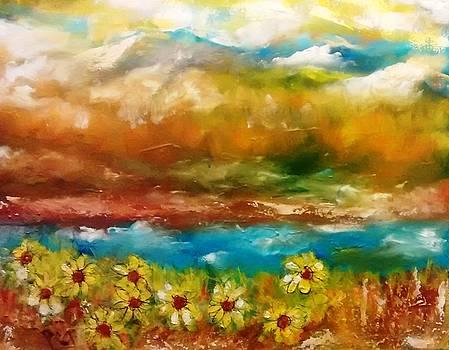 Colorado Mountain Landscape by Patricia Taylor