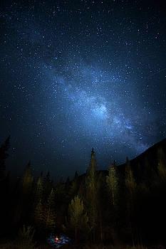 Colorado Mountain Milky Way by Mark Andrew Thomas