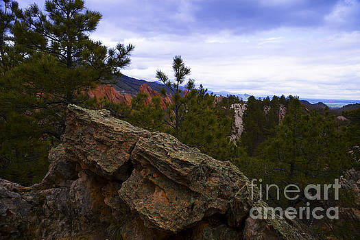 Colorado Red Rocks by Barbara Schultheis