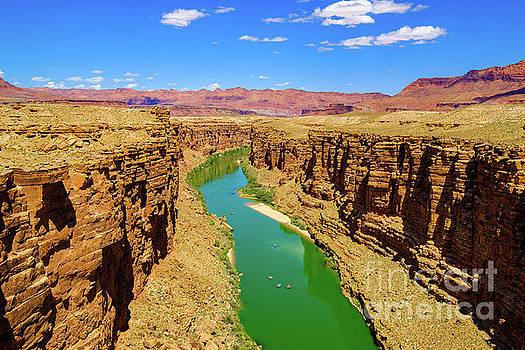 Colorado River Arizona by Raul Rodriguez