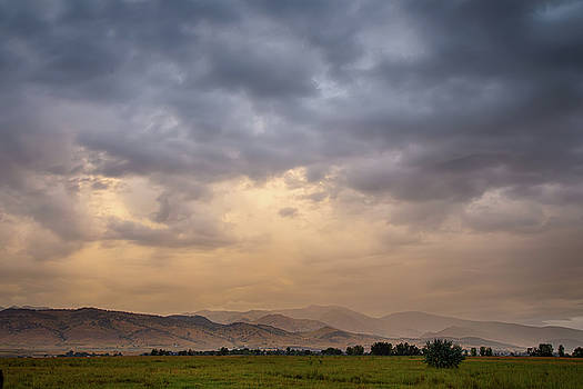 Colorado Rocky Mountain Foothills Storms by James BO Insogna