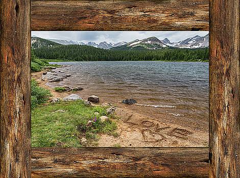 James BO Insogna - Colorado Rocky Mountain Love Cabin Window View