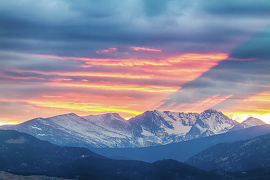 James BO Insogna - Colorado Rocky Mountain Sunset Waves Of Light Part 1