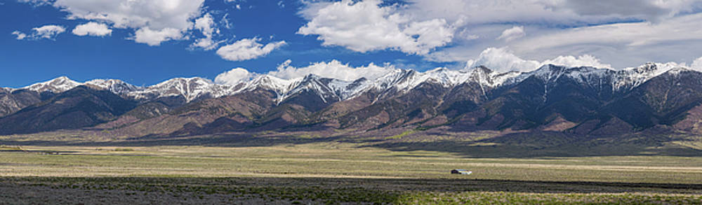 Colorado San de Cristo Mountains Panorama View by James BO Insogna
