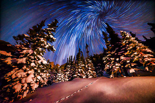 Colorado Starry Night by Mike Berenson