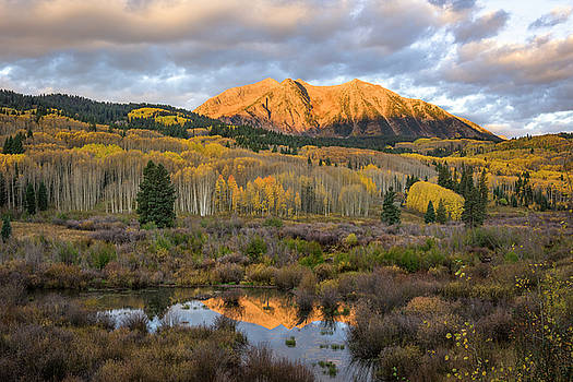 Colorado Sunrise by Phyllis Peterson