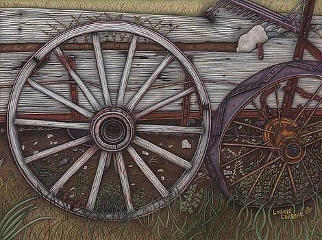 Colorado Wheels by Lorrie Cerrone