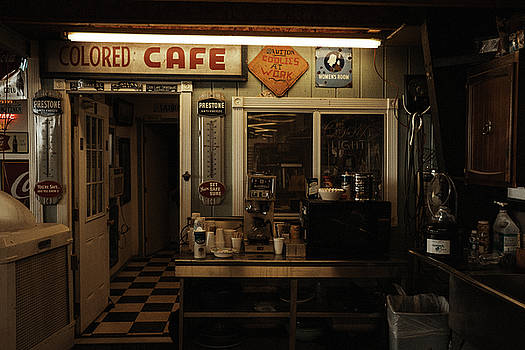 Colored Cafe by Roland Peachie