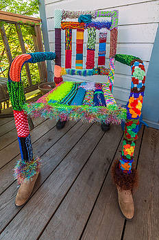 Colored Chair by Lonnie Paulson