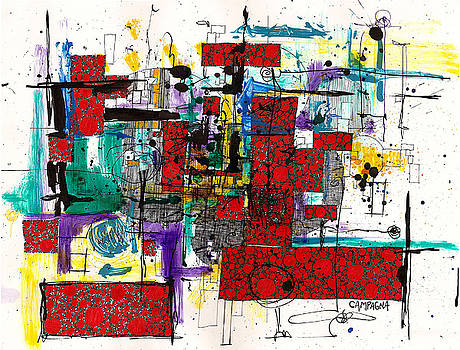 Teddy Campagna - COLORED CHAOS