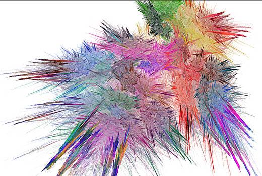 Colored Cluster by Dwayne Jahn