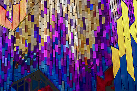 Colored Glass by Larry Bodinson