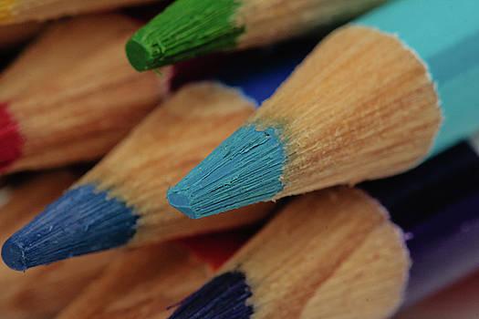 Colored Pencils Macro by Jaci Harmsen