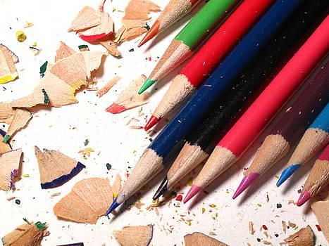 Colored Pencils by Valerie Morrison