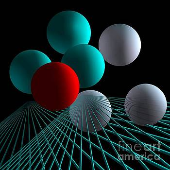 Colored Spheres -1- by Issabild -
