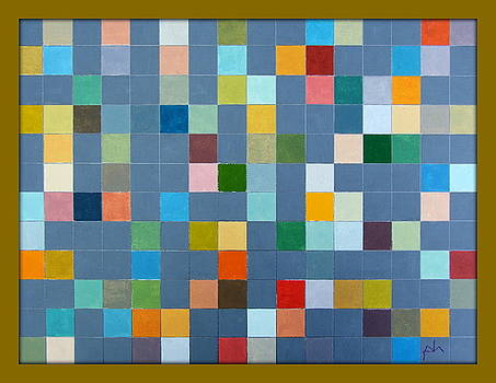 PETER-HUGO MCCLURE - Colored Squares. 06