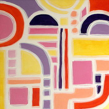 Karyn Robinson - Colorful Abstract Art - Urban Maze