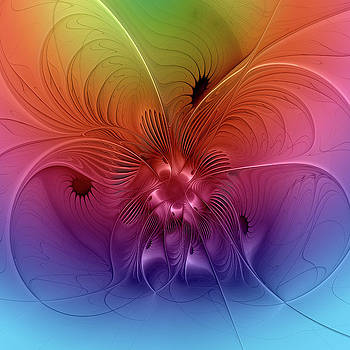 Colorful Abstraction by Gabiw Art
