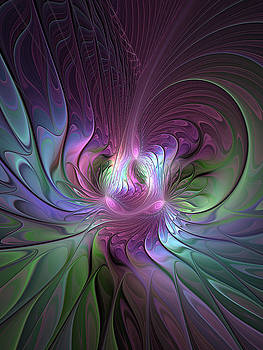 Colorful and abstract Fractal Art by Gabiw Art