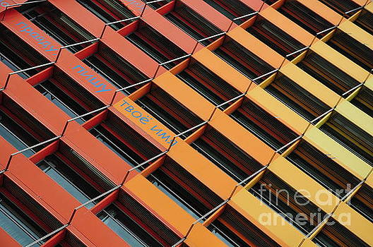 Colorful Architectural Abstract by Akshay Thaker