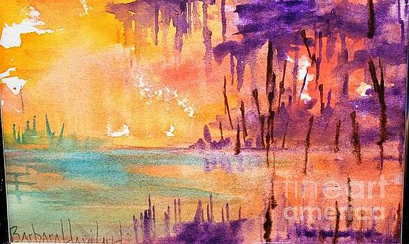 Colorful Bayou by Barbara Haviland