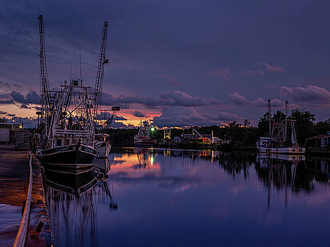 Colorful Bayou Sunset by Brad Boland