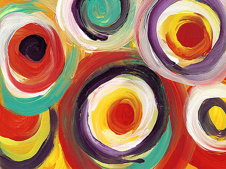Amy Vangsgard - Colorful Bold Circles 2