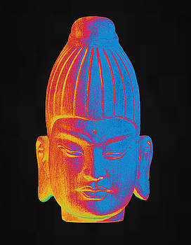 colorful Buddha Burmese by Terrell Kaucher