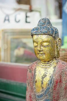 Colorful Buddha by Morgain Bailey