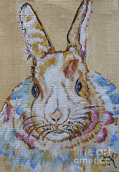 Colorful Bunny #755 by Ella Kaye Dickey