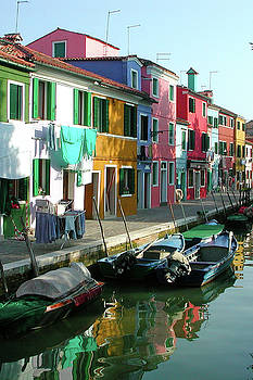 Leslie Brashear - Colorful Burano