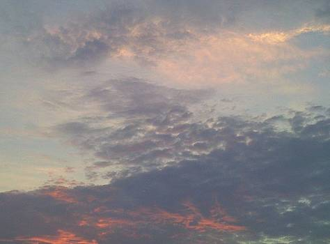 Colorful Clouds In The Sky VII by Daniel Henning