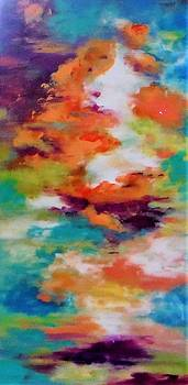 Colorful Clouds by Jacqueline Whitcomb