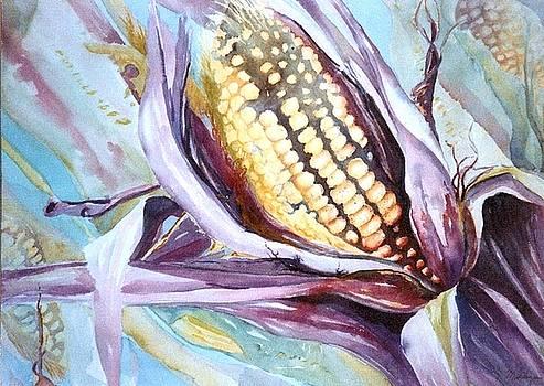 Colorful Corn by Maryann Schigur