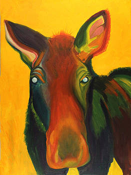 Colorful Cow by Amy Reisland-Speer
