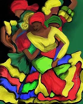 Colorful Dance by Laura Fatta