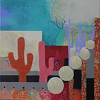 Colorful Desert by April Burton