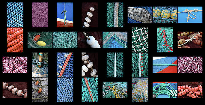 Colorful Fishing Nets by Frank Tschakert