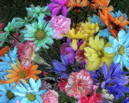 Colorful Flowers #055 by Barbara Tristan