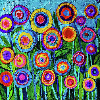 Colorful Flowers 1 by Stephen Humphries