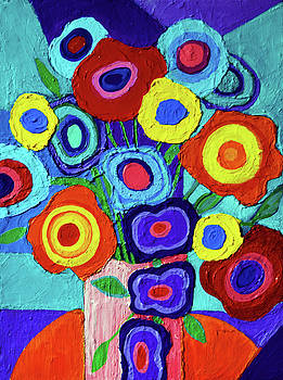 Colorful Flowers 4 by Stephen Humphries
