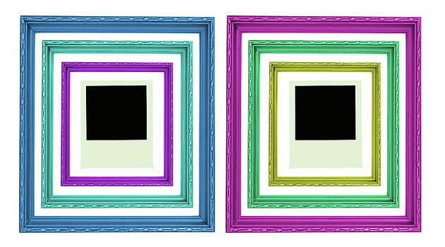 Colorful Frame by Prasert Chiangsakul