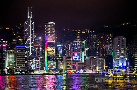 Colorful Hong Kong by Jim Chamberlain