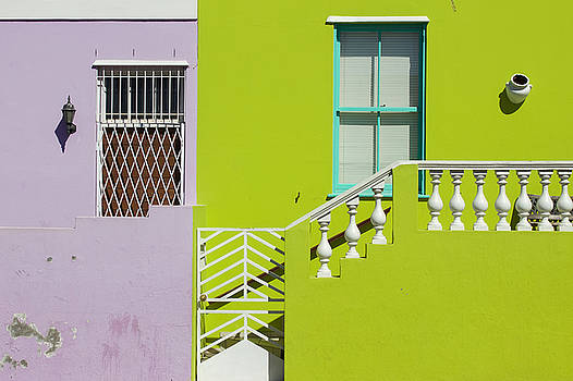 Colorful Houses in Bo-Kaap Cape Town by Joscelyn Paine