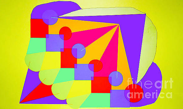 Colorful Huge Ice Cream Abstract by Raul Diaz