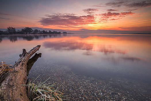 Colorful lake by Davorin Mance