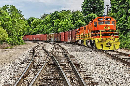 Colorful Marquette Rail by Sue Smith