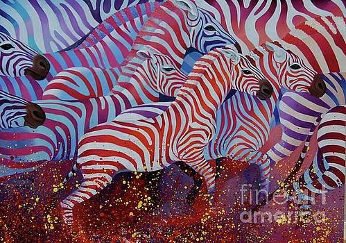 Colorful migration by Tatyana Binovska
