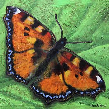Tortoiseshell Butterfly by Tara D Kemp