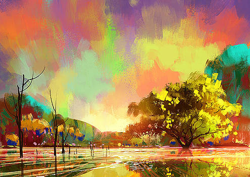 colorful natural by